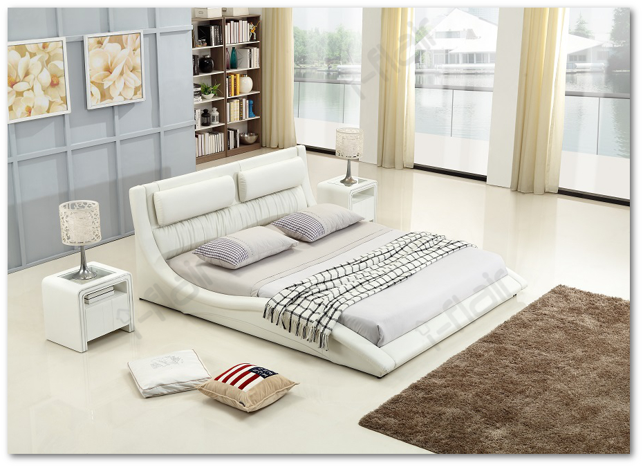 polsterbett doppelbett bettgestell bett leandro 200x200 cm wei 48 ebay. Black Bedroom Furniture Sets. Home Design Ideas