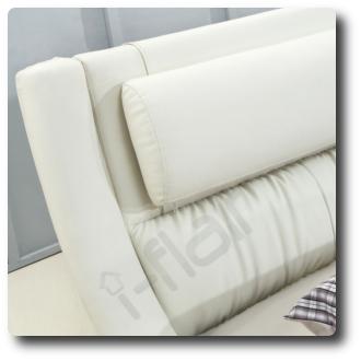 polsterbett doppelbett bettgestell bett leandro 200x200 cm. Black Bedroom Furniture Sets. Home Design Ideas