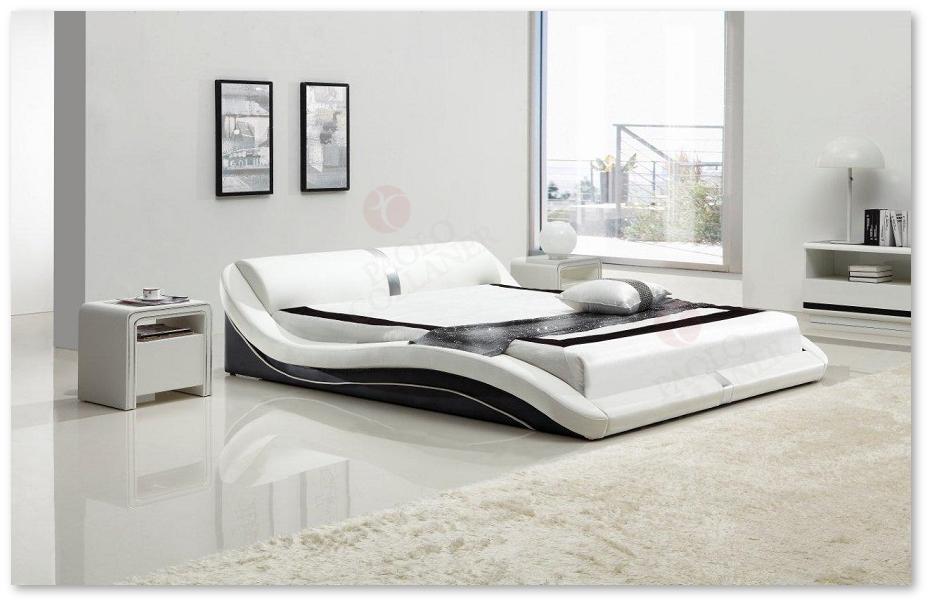 polsterbett doppelbett bettgestell design bett toni 200x200 cm schwarz wei 68 ebay. Black Bedroom Furniture Sets. Home Design Ideas
