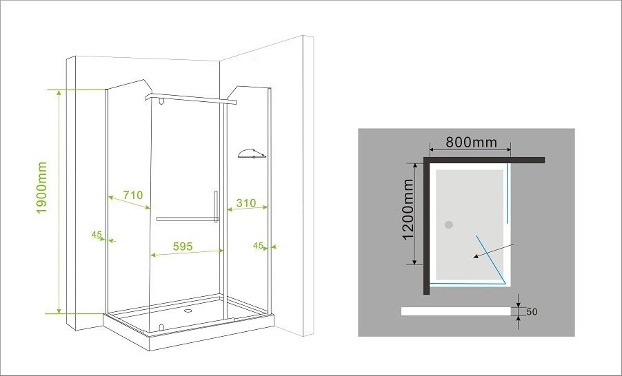 bodengleiche dusche 80 x 120 raum und m beldesign inspiration. Black Bedroom Furniture Sets. Home Design Ideas