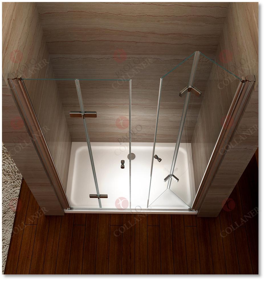 faltt r 680 1400mm pendelt r nischent r duschabtrennung metallscharniere nano ebay. Black Bedroom Furniture Sets. Home Design Ideas