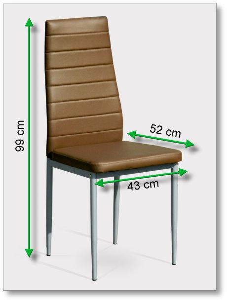 4x braune esszimmerst hle essgruppe sitzgruppe k chen. Black Bedroom Furniture Sets. Home Design Ideas
