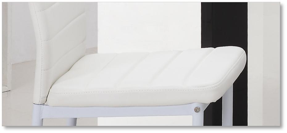 wei e lederst hle m belideen. Black Bedroom Furniture Sets. Home Design Ideas