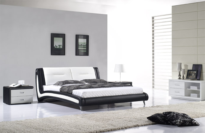 polsterbett doppelbett ehebett luciano 200x200 designer bett lederbett l0wb ebay. Black Bedroom Furniture Sets. Home Design Ideas
