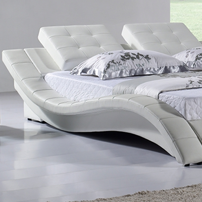 doppelbett bettgestell designer polsterbett capri 200x200 bett lederbett c8w ebay. Black Bedroom Furniture Sets. Home Design Ideas