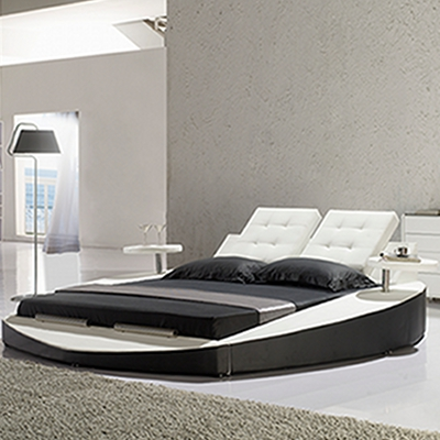 polsterbett doppelbett bettgestell gianni 140x200 design bett lederbett g0bw neu ebay. Black Bedroom Furniture Sets. Home Design Ideas