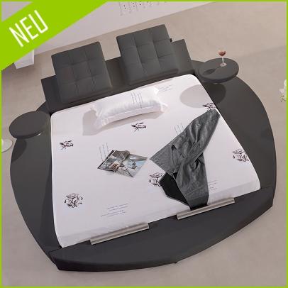 polsterbett doppelbett bettgestell gianni 200x200 design bett lederbett g0b neu ebay. Black Bedroom Furniture Sets. Home Design Ideas