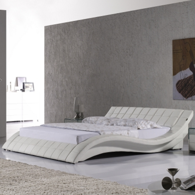 doppelbett lederbett bettgestell polsterbett raul 200x200 designer bett r0w neu ebay. Black Bedroom Furniture Sets. Home Design Ideas