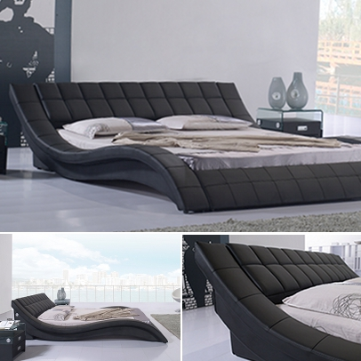 doppelbett bettgestell ehebett polsterbett raul 200x200 designer bett r0b neu ebay. Black Bedroom Furniture Sets. Home Design Ideas