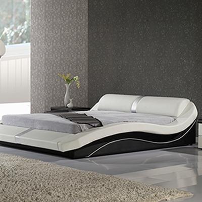 polsterbett ehebett doppelbett toni 160x200 designer bett lederbett t0bw neu ebay. Black Bedroom Furniture Sets. Home Design Ideas